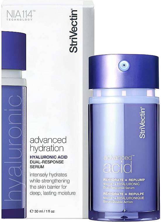 Intensiv feuchtigkeitsspendendes Gesichtsserum mit Hyaluronsäure - StriVectin Advanced Acid Hyaluronic Dual-Response Serum