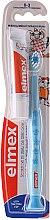 Düfte, Parfümerie und Kosmetik Kinderzahnbürste 0-3 Jahre weich hellblau mit Giraffen - Elmex Learn Toothbrush Soft + Toothpaste 12ml