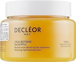 Düfte, Parfümerie und Kosmetik Balsam zur Wiederherstellung und Schutz trockener Gesichts- und Körperhaut - Decleor Cica-Botanic Eucalyptus Relieving Repairing Body Balm