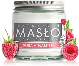 Düfte, Parfümerie und Kosmetik 100% natürliche unraffinierte Körperbutter mit Sheabutter und Himbeeröl - E-Fiori Natural Body Butter Shea with Raspberry