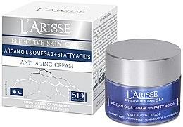 Düfte, Parfümerie und Kosmetik Anti-Aging Gesichtscreme mit Arganöl, Omega-3 und Omega-6-Fettsäuren 65+ - Ava Laboratorium L'Arisse 5D Anti-Wrinkle Cream Agran Oil & Omega 3+6