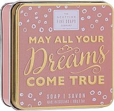 Düfte, Parfümerie und Kosmetik Seife im Metallbox May All Your Dreams Come True - Scottish Fine Soaps May All Your Dreams Come True Soap In A Tin
