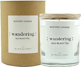 Düfte, Parfümerie und Kosmetik Duftkerze im Glas Wandering Goji Black Tea - Ambientair The Olphactory Wandering Goji Black Tea