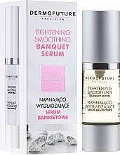 Düfte, Parfümerie und Kosmetik Glättendes Gesichtsserum - DermoFuture Tightening Smoothing Banquet Serum