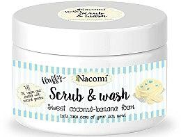 Düfte, Parfümerie und Kosmetik Peeling-Schaum mit Kokos und Banane - Nacomi Scrub and Wash Sweet Coconut-Banana Foam
