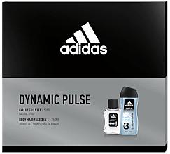 Düfte, Parfümerie und Kosmetik Adidas Dynamic Pulse - Duftset (Eau de Toilette 50ml + Duschgel 250ml)