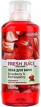 Düfte, Parfümerie und Kosmetik Schaumbad mit Erdbeere und roter Lorbeere - Fresh Juice Strawberry and Red Bayberry