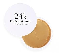 Düfte, Parfümerie und Kosmetik Hydrogel-Augenpatches mit Hyaluronsäure - Skin79 Hyaluronic Acid Gold Hydrogel Eye Patch