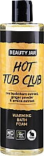 Düfte, Parfümerie und Kosmetik Wärmender Badeschaum mit Ingwerpulver, Sanddorn- und Arnika-Extrakt - Beauty Jar Hot Tub Club Warming Bath Foam
