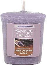 Düfte, Parfümerie und Kosmetik Votivkerze Dried Lavender & Oak - Yankee Candle Dried Lavender & Oak Sampler Votive