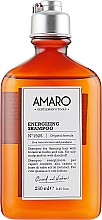 Düfte, Parfümerie und Kosmetik Energiespendendes Shampoo für fettige Kopfhaut und gegen Schuppen - FarmaVita Amaro Energizing Shampoo
