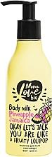 Düfte, Parfümerie und Kosmetik Körpermilch mit Ananasduft - MonoLove Bio Pineapple Jamaica Body Milk