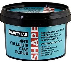 Düfte, Parfümerie und Kosmetik Anti-Cellulite-Ton-Körperpeeling - Beauty Jar Shape Anti-Cellulite Clay Scrub