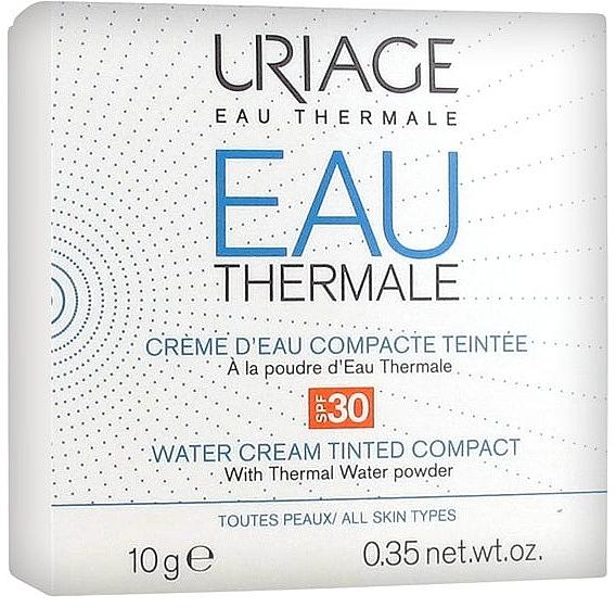 Kompakter getönter Creme-Puder für das Gesicht mit Thermalwasser SPF 30 - Uriage Eau Thermale Water Tinted Cream Compact SPF30