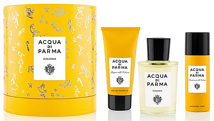 Acqua Di Parma Colonia - Kosmetikset (Eau de Cologne/100ml + Duschgel/75ml + Deodorant/50ml)