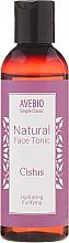Düfte, Parfümerie und Kosmetik Natürliches Gesichtstonikum mit Zistrosen - Avebio Natural Face Tonic Cistus