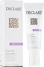 Düfte, Parfümerie und Kosmetik Straffende Creme für Hals und Dekolleté mit Lifting-Effekt - Declare Age Control Multi Lift Decollete Re-Modeling Neck