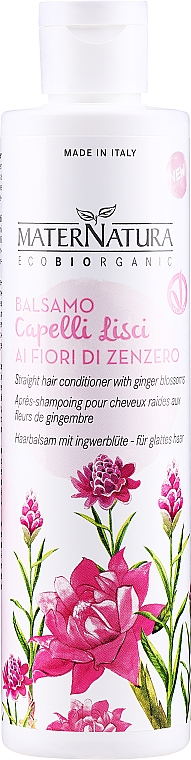 Glättende Haarspülung mit Ingwerblüte - MaterNatura Ginger Blossom Conditioner