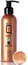 Düfte, Parfümerie und Kosmetik BB Körperbalsam mit Bräunungseffekt hell - Silcare Quin Fluid BB 1 Body Shine Light
