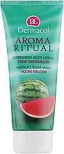 Düfte, Parfümerie und Kosmetik Erfrischende Körperlotion mit Wassermelone - Dermacol Body Aroma Ritual Refreshing Body Lotion