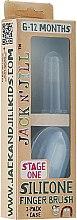 Düfte, Parfümerie und Kosmetik Silikon Baby-Fingerbürste 2er-Pack, 6-12 Monaten - Jack N' Jill