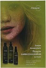 Düfte, Parfümerie und Kosmetik Haarpflegeset - Element (Shampoo 300ml + Haarspülung 300ml + Haarspray 150ml)