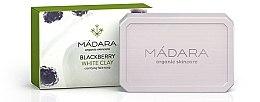 Düfte, Parfümerie und Kosmetik Gesichtsseife Brombeere und weiße Tonerde - Madara Cosmetics Blackberry and White Clay Soap