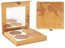 Düfte, Parfümerie und Kosmetik Highlighter-Palette - Couleur Caramel Highlighter Palette