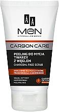 Düfte, Parfümerie und Kosmetik Gesichtspeeling mit Aktivkohle - AA Men Carbon Care Charcoal Face Scrub