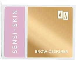 Düfte, Parfümerie und Kosmetik Augenbrauenwachs und Highlighter - AA Sensi Skin Brow Designer
