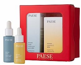 Düfte, Parfümerie und Kosmetik Gesichtspflegeset - Paese Selflove Set I (Gesichtsserum 15ml + Gesichtsserum 30ml)