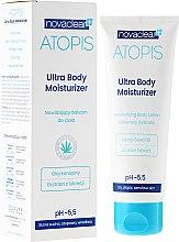 Düfte, Parfümerie und Kosmetik Feuchtigkeitsspendende Körperlotion mit Hanfsamaenöl - Novaclear Atopis Ultra Body Moisturizer