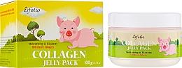 Düfte, Parfümerie und Kosmetik Lifting-Maske für das Gesicht mit hydrolysiertem Kollagen - Esfolio Collagen Shape Memory Jelly Pack