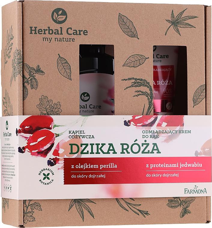 Körperpflegeset - Farmona Herbal Care (Bademilch 500ml + Handcreme 100ml)