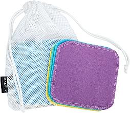 Düfte, Parfümerie und Kosmetik Wiederverwendbare Schwämme zum Abschminken in einem Wäschesack ToFace - Makeup Remover Sponge Set Multicolour & Reusable