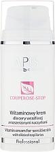 Düfte, Parfümerie und Kosmetik Vitamin-Gesichtscreme für empfindliche Haut mit erweiterten Kapillaren - APIS Professional Couperose-Stop Vitamin Cream