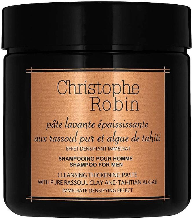 Reinigende und verdickende Haarpaste mit reinem Rassoul und Tahiti-Algen - Christophe Robin Cleansing Thickening Paste with Pure Rassoul Clay and Tahitian Algae