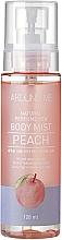 Düfte, Parfümerie und Kosmetik Feuchtigkeitsspendender Körpernebel mit Pfirsich-Extrakt - Welcos Around Me Natural Perfume Vita Body Mist Peach