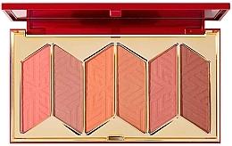 Düfte, Parfümerie und Kosmetik Rouge-Palette - Pur X Barbie Malibu Blush Signature 6-Piece Blush Palette