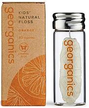 Düfte, Parfümerie und Kosmetik Zahnseide 30 m - Georganics Natural Sweet Orange Dental Floss