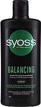 Düfte, Parfümerie und Kosmetik Ausgleichendes Shampoo mit Ginseng für alle Haar- und Kopfhauttypen - Syoss Balancing Ginseng Shampoo