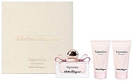Düfte, Parfümerie und Kosmetik Salvatore Ferragamo Signorina - Duftset (Eau de Parfum 50ml + Körperlotion 50ml + Duschgel 50ml)