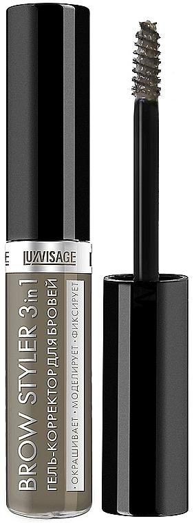 Gel-Concealer für Augenbrauen - Luxvisage Brow Styler