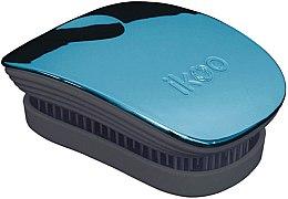 Düfte, Parfümerie und Kosmetik Haarbürste - Ikoo Pocket Pacific Metallic Black