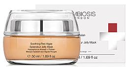 Düfte, Parfümerie und Kosmetik Beruhigende Gelee-Maske für das Gesicht mit Rotalgen und Pullulan - Symbiosis London Soothing Red Algae Splendour Jelly Mask