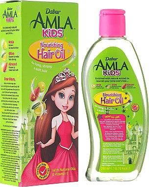 Pflegendes Haaröl für Kinder mit Amla, Olive und Mandel - Dabur Amla Kids Nourishing Hair Oil