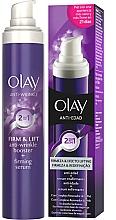 Düfte, Parfümerie und Kosmetik Straffendes Anti-Falten Gesichtsserum - Olay Anti Wrinkle Firm & Lift 2 in 1 Booster And Serum
