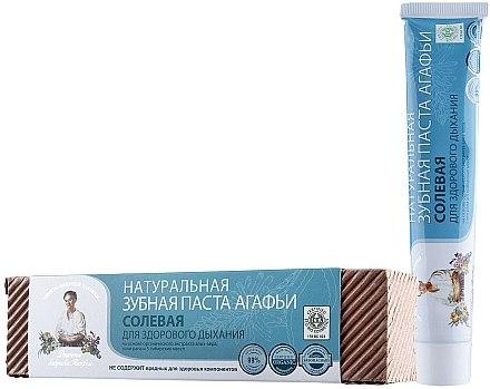 Natürliche Zahnpasta mit Salz - Rezepte der Oma Agafja — Bild N1
