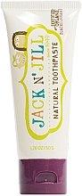 Düfte, Parfümerie und Kosmetik Kinder-Zahnpasta mit schwarzer Weintraube - Jack N' Jill Natural Toothpaste Blackcurrant