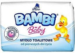 "Düfte, Parfümerie und Kosmetik Baby-Toilettenseife ""Bambi Baby"" - Bambi Baby"